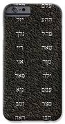 72 Names Of God IPhone Case by James Barnes