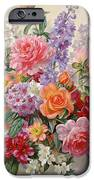 A High Summer Bouquet IPhone Case by Albert Williams