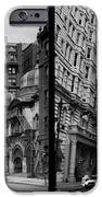 A Tail Of Two Cities - South Broad Then And Now IPhone Case by Bill Cannon