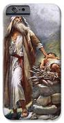 Abraham And Isaac IPhone Case by Harold Copping
