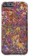 Abstract - Fabric Paint - String Theory IPhone Case by Mike Savad