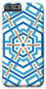 Abstract Hexagonal Shape IPhone Case by Jozef Jankola