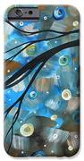 Abstract Original Landscape Art In A Trance Art By Madart IPhone Case by Megan Duncanson