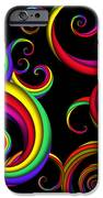 Abstract - Spirals - Inside A Clown IPhone Case by Mike Savad