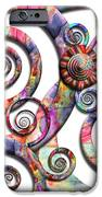Abstract - Spirals - Wonderland IPhone Case by Mike Savad