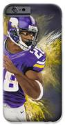 Adrian Peterson IPhone Case by Don Medina