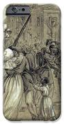 African American Soldiers Return Home From War - 1866 IPhone Case by Daniel Hagerman
