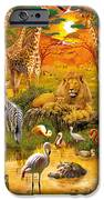 African Harmony IPhone Case by Jan Patrik Krasny