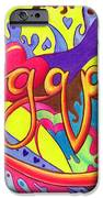 Agape IPhone Case by Nancy Cupp