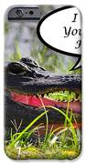Alligator Greeting Card IPhone Case by Al Powell Photography USA