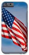 American Flag IPhone Case by Benjamin Reed
