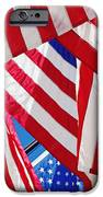 American Flags IPhone Case by Nathan Griffith