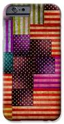 American Flags IPhone Case by Tony Rubino
