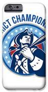 American Patriot Baseball District Champions IPhone Case by Aloysius Patrimonio