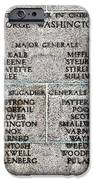 American Revolutionary War Generals IPhone Case by Olivier Le Queinec