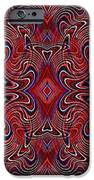 Americana Swirl Banner 1 IPhone Case by Sarah Loft