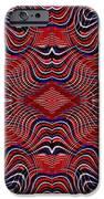 Americana Swirl Design 7 IPhone Case by Sarah Loft