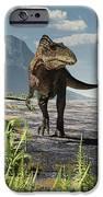 An Acrocanthosaurus Roams An Early IPhone 6s Case by Arthur Dorety