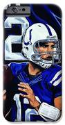 Andrew Luck IPhone Case by Chris Eckley