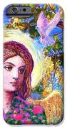 Angel Love IPhone Case by Jane Small