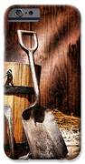 Antique Gardening Tools IPhone Case by Olivier Le Queinec