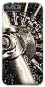 Antique Plane Engine IPhone Case by Olivier Le Queinec