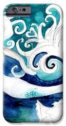 Aqua Mermaid IPhone Case by Genevieve Esson