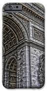 Arc De Triomphe - French Map Of Paris IPhone Case by Lee Dos Santos