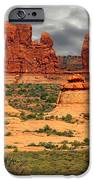 Arches National Park - A Picturesque Drama IPhone Case by Christine Till