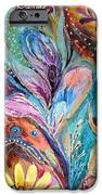 Artwork Fragment 36 IPhone Case by Elena Kotliarker