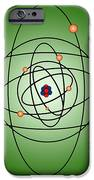 Atomic Structure Model IPhone Case by Science Source