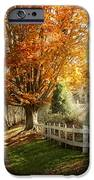 Autumn - Westfield Nj - I Love Autumn IPhone Case by Mike Savad