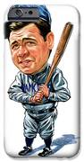 Babe Ruth IPhone Case by Art