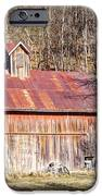 Barn By The Bluffs IPhone Case by Cricket Hackmann