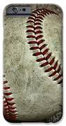 Baseball - A Retired Ball IPhone Case by Paul Ward