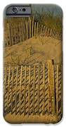 Beach Fence IPhone Case by Susan Candelario