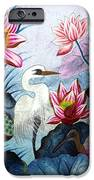 Beauty Of The Lake Hand Embroidery IPhone Case by To-Tam Gerwe