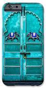 Behind The Green Door IPhone Case by Catherine Arnas