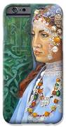 Berber Woman IPhone Case by Enzie Shahmiri