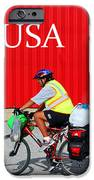 Bike Usa IPhone Case by Lorna Rogers Photography