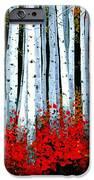 Birch 24 X 48  IPhone Case by Michael Swanson