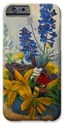 Birthday Flowers 1 IPhone Case by Brian  Pinkey