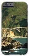 Bixby Bridge IPhone Case by DJ Laughlin