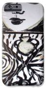 Black And White IPhone Case by Catherine Walker
