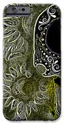Black Sunflower Skull IPhone Case by Lovejoy Creations