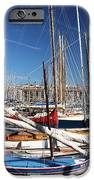 Boat Day In The Port IPhone Case by John Rizzuto