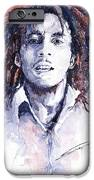 Bob Marley 3 IPhone Case by Yuriy  Shevchuk