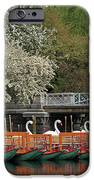 Boston Swan Boats  IPhone Case by Juergen Roth