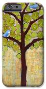 Boughs In Leaf Tree IPhone Case by Blenda Studio