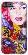 Bouquet Of Marilyn IPhone Case by Rebecca Glaze